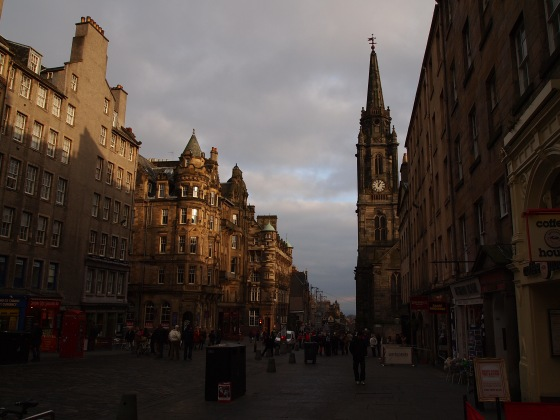 The Royal Mile!