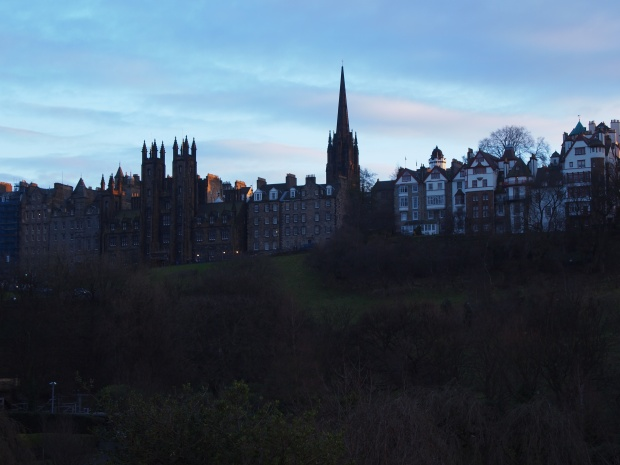 (New College is the double-spired building on the far left! And by New College, i mean Hogwarts...)