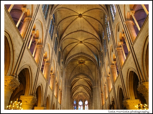inside notre dame, watermarked
