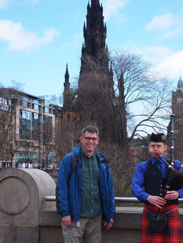 Bagpipes and Walter Scott. Doesn't get more quintessentially Scottish than that!