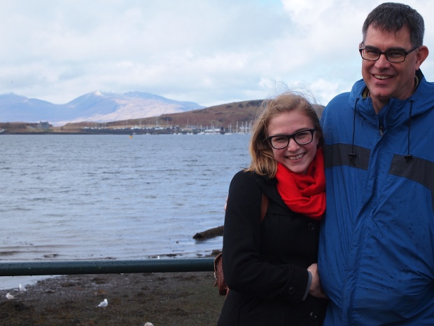 In Oban, on the West Coast!