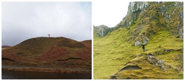 We took matching opposite-hilltop photos!