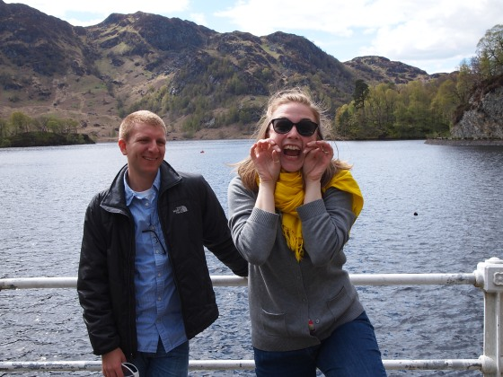 "Enacting romance by the shores of Loch Katrine, the setting of Sir Walter Scott's ""The Lady of the Lake."""