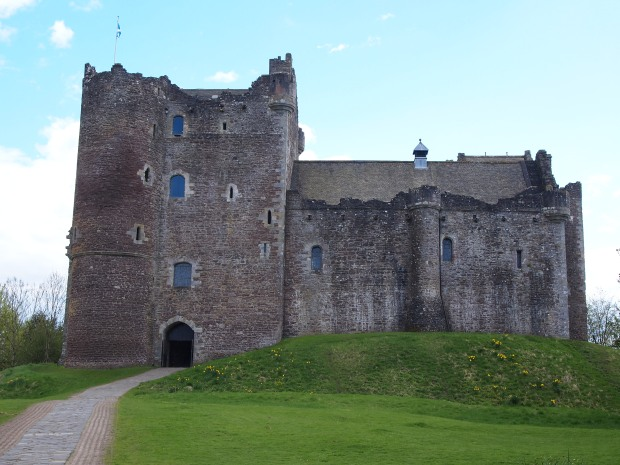 Doune Castle - where the bulk of Monty Python and the Holy Grail was filmed!