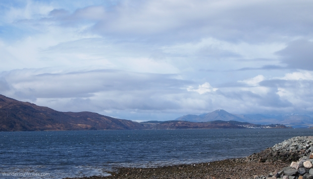 Can you spy the Skye Bridge?