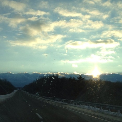 Day 15: Rejoice. On I-84, due West.